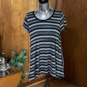 Mystree strip high and low tunic